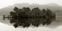 Mist over Rydal Water, Cumbria, England. by Craig Joiner