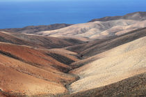 Badlands im Süden von Fuerteventura