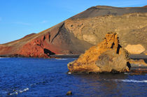 Lanzarote, El Golfo by Almut Rother