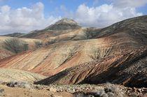 Fuerteventura, Badlands südwestlich von Pájara