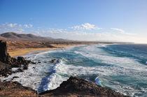 Fuerteventura, Bucht von El Cotillo by Almut Rother