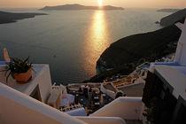 Santorini, Insel der Kykladen by Frank Rother