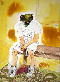 Frogman von Stephanie Heendrickxen