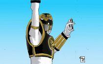 White Ranger Tiger Power by Will  Burton