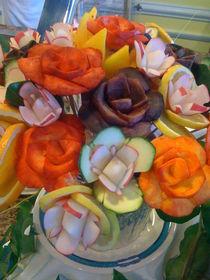 Vegitible Flowers  von Jenna Wylie