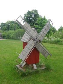 Minature Windmill von Jenna Wylie