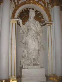 Female Statue von Jenna Wylie