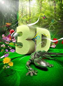 3D gecko garden by tan cheehong