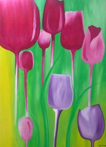 tulips for kathrin by Katja Finke