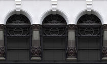 Art Deco Windows  by Elizabeth Gallagher