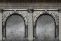 Paris arches  by Elizabeth Gallagher