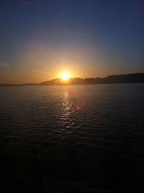 Sea Sunset von Veronica Di Dato