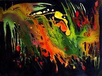 Abstrakt farbenfroh von Ingrid Clement-Grimmer