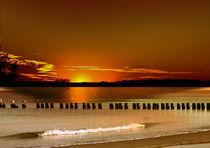 Sonnenuntergang von Ingrid Clement-Grimmer