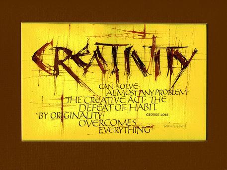 Creativity-piece