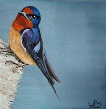 Barn Swallow von Wendy Mitchell