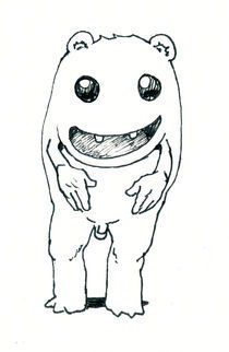 Happy Critter von Andrew Henry