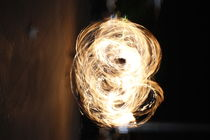 Man playing with fire by thorby