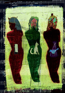3 muses by frederic levy-hadida