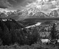 Snake River overlook by Beate Dalbec
