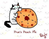 Prue's Peach Pie by Yuvia Chairez