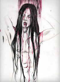 A bloody Shower von Serena Marongiu