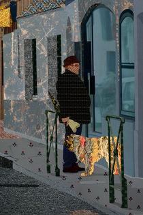 Woolen street by Katia Terpigoreva