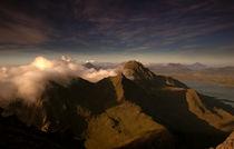 Foggy mountain von Stein Liland