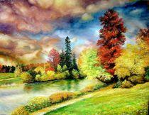 Autumn in Park von Apostolescu  Sorin