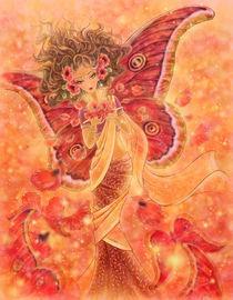 Crimson Wings von Mitzi Sato-Wiuff