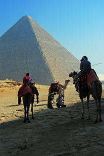 Great Pyramid of Giza by David Love