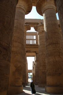 Hypostyle Hall, Karnak, Egypt. by David Love
