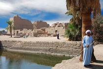 Sacred lake Karnak von David Love