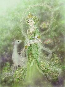 Lady of Compassion von Mitzi Sato-Wiuff