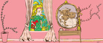 Goldilocks Looking in Window by elizabeth haywood