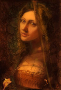 The girl with ringlet von Maxim Bagdasarov