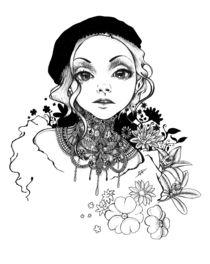 Elegantes Flüstern von Mirja T