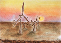 Windpark - Wind farm by Patti Kafurke