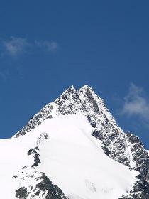 Grossglockner Austria, snow mountain, alps von Sarah Clark