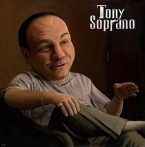 Tony Soprano by Iban Egaña