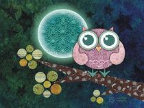 Midnight Owl von Sandra Vargas