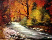 Autumn in Forest von Apostolescu  Sorin