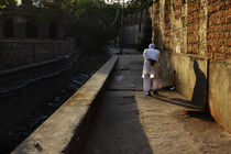 Old man, Jaipur, India, Lonely by Soumen Nath