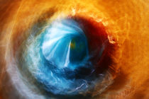 Abstract , Fine Art- Eye of a storm by Soumen Nath