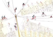 Biking in London by mad