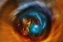 Abstract , Fine Art- Eye of God von Soumen Nath