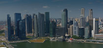 Skyline from Singapur by littlepeak
