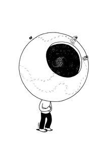 Moon Head by Heiko Windisch