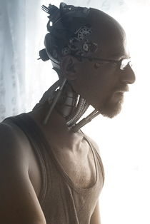 Positronic selfportrait by Daniele Gay