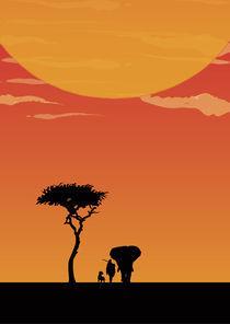 An African Fairytale von Catherine Bosman